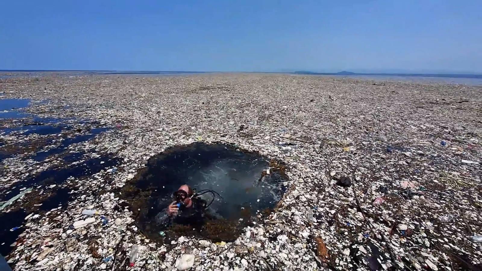 Isla de plástico en el Pacífico