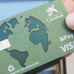 CaixaBank lanza la primera tarjeta 100% reciclada
